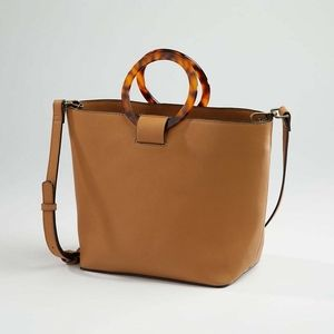 J. Jill Great Round-Handle Convertible Bucket Bag